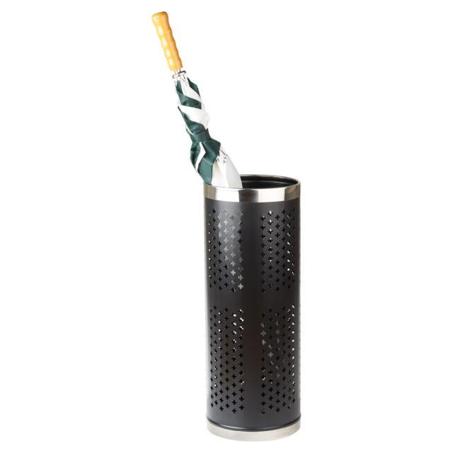 Large Umbrella Walking Stick Stand W Watertight Base Compact Sturdy