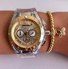 Technomarine Gold & Silver TM-116002 Women's 2 Straps + Free bracelet