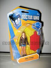 Doctor Who-Estanque De Amy figura de acción (Marrón Chaqueta, Wave 3)