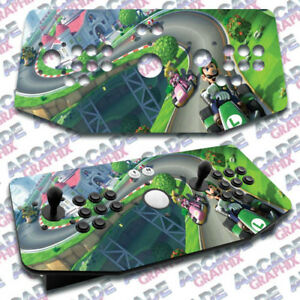 Replacement Parts 2019 New Style Mario Bros X Arcade Artwork Tankstick Overlay Graphic Sticker