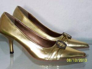 Damenschuhe gold Gr.36,37,37
