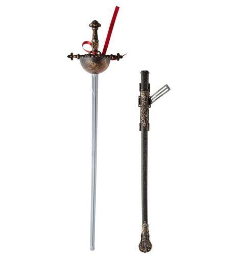 FIORETTO ANTICO CON FODERO Widmann carnevale spade accessori armi 115 8204F