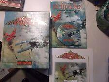 """Empire Dawn Patrol for IBM PC 3.5"""" Disks Complete in Box RARE BIG BOX video game"""