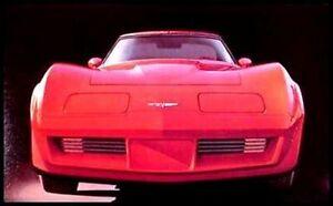GM NOS Xlnt 82 1982 Chevy Corvette ORIGINAL Dealer Brochure