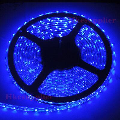 5M 300LEDs 3528 Blue Silicone Tube IP65 Waterproof Flexible Strip Lights 12V DC