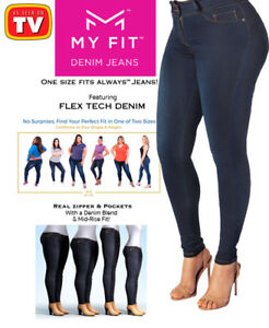 9760bfaf13 My Fit Jeans - As Seen On TV - Women s Stretch Denim Jeans w ...