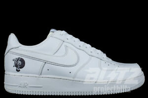 2004 NIKE AIR FORCE 1 ROCAFELLA 306033-113 WHITE WHITE Size 10.5 ... 062f56a67