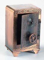 Antique Safe Die Cast Metal Collectible Pencil Sharpener