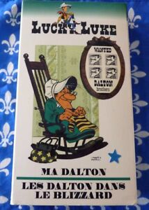VHS-French-Movie-Ma-Dalton-Les-Dalton-Dans-le-Blizzard-Lucky-Luke-No-1