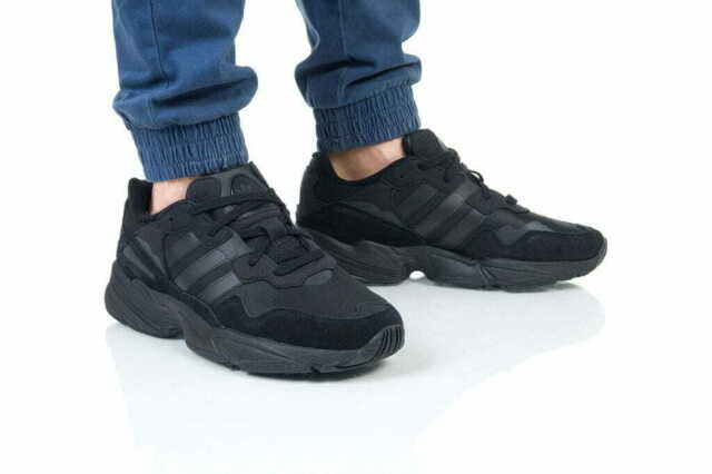 Adidas Originals Yung 96 Black Men's Running Trail Trainers Shoes 7_8_9_10.5