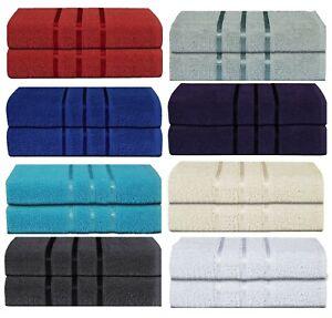 2-Piece-Bathroom-Bath-Towel-Sheet-Soft-Egyptian-Cotton-Premium-Luxury-500GSM