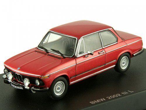 BMW 2002 Tii L 1974 rosso 1:43 Autoart Autoart Autoart 1edba0