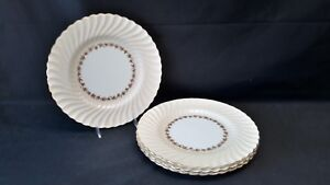 Minton-England-Vineyard-Buff-S572-Set-of-4-Dinner-Plates