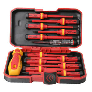 13pcs-Pro-Electricians-Insulated-Electrical-Hand-Screwdriver-Set-Kit-1000V