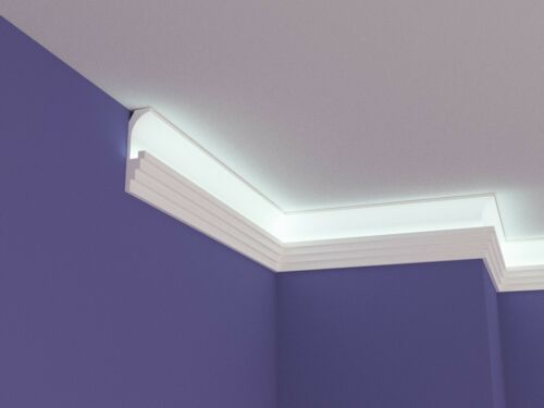 XPS POLYSTYRENE LED INDIRECT UPLIGHTER COVING CORNICE LIGHTWEIGHT NEXTDAY DEL.
