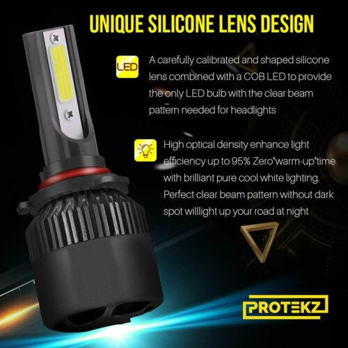 Protekz 6000K LED Fog Light Kit for 2005-2009 Hyundai TUCSON 881 Fog Bulb