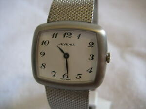 NOS-NEW-SWISS-MADE-STAINLESS-STEEL-JUVENIA-WATCH-1960-039-S