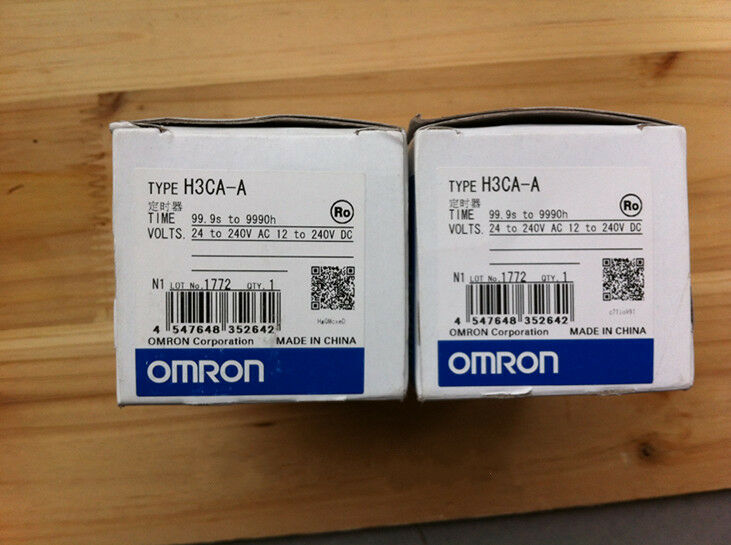 1PC Omron Timer H3CA-A 24-240VAC VDC NEW