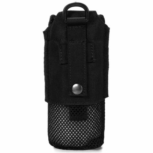 Outdoor Water Bottles Pouch Foldable Mesh Drawstring Bottle Holder Carrier