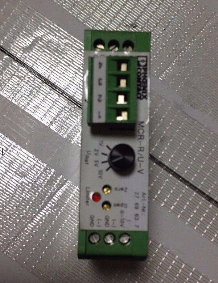 Phoenix Contact MCR-R U-V Resistance Transducer MCR Potentiometer indicator