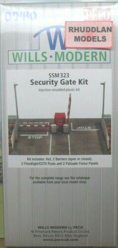 NEW WILLS SSM323 MODERN SECURITY GATE KIT OO GAUGE