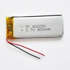3.7V 400mAh Li-po Polymer Battery li ion power For MID DVD GPS bluetooth 402050