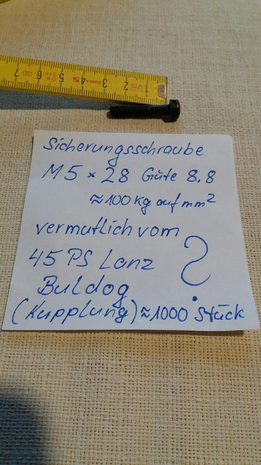 Sicherungsschraube M5x28 mm | | | Deutschland  a8ca46