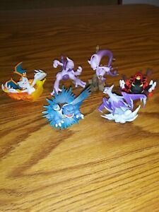 Pokemon lot of 6 figurines,VERY HARD TO FIND  look for more to be listed..