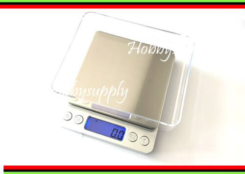 3000g x0.1g Blue Back Light x 1 Superior Mini DIGITAL Platform SCALE Capacity