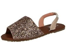 a567ddecd item 4 Ladies Menorcan Sling Back Open Toe Flat Spanish Glitter PU Summer  Sandals Shoes -Ladies Menorcan Sling Back Open Toe Flat Spanish Glitter PU  Summer ...