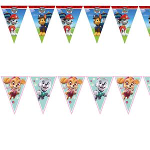 Paw-Patrol-Flag-Banner-Bunting-Children-039-s-Birthday-Party-Decoration-Boys-Girls