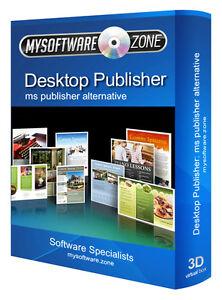 DESKTOP PUBLISHER PUBLISHING 2017 SOFTWARE FOR MICROSOFT MS WIN PC PLATFORM