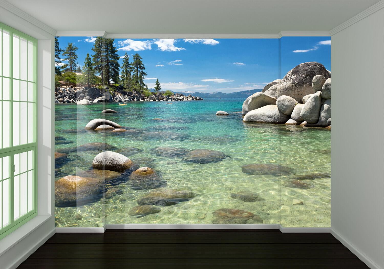 3D Pretty Sea Scenery 1642 Wallpaper Decal Dercor Home Kids Nursery Mural Home