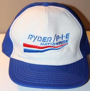Ryder PIE Nationwide Cap Hat Vintage 1 Size Fits All Adjustable