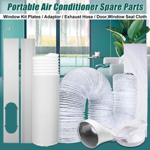 Plate-Door-Window-Seal-Kit-Cloth-Exhaust-Hose-for-Portable-Air-Conditioner