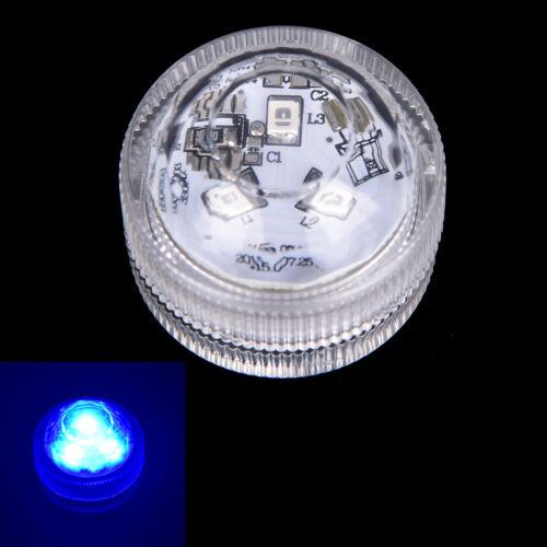 led submersible light battery waterproof underwater pool pond lighting TS new