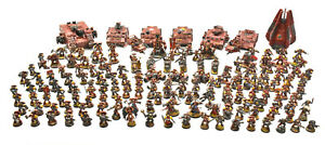 SPACE-MARINES-Unique-Blood-angels-Converted-Army-WELL-PAINTED-Warhammer-40K