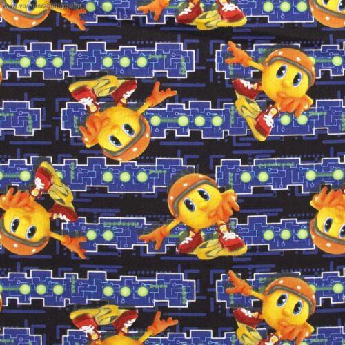 Fat Quarter Pacman Retro Game Cotton Quilting Fabric SPX 25342 MUL 1