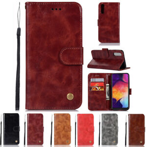 Luxury-Flip-Wallet-PU-Leather-Case-Cover-Stand-Card-For-Samsung-Galaxy-A50