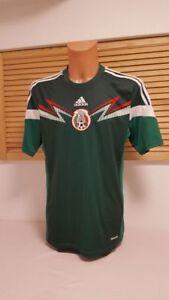 ADIDAS TRIKOT SHIRT MEXIKO MÉXICO Nr. 10 BLANCO rot Fußball