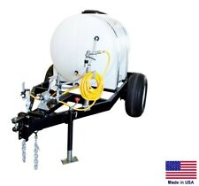 Sprayer Commercial Trailer Mtd Pto Powered Boomless Nozzles 300 Gallon