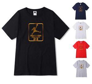 Nouveau-T-Shirt-Homme-Michael-air-legend-23-JORDAN-Hommes-Shirt-Tops-Fashion-Tumblr-Top