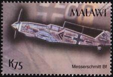 WWII Luftwaffe Messerschmitt Bf-109 Fighter Aircraft Stamp