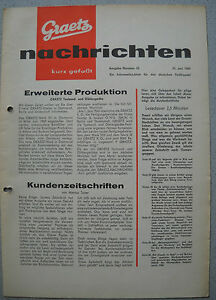 ITT/GRAETZ Nachrichten Nr. 35, 29.06.1960