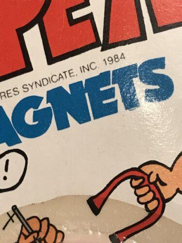 Vtg 1984  Larami POPEYE Toy Magnets Olive Oyl Bluto