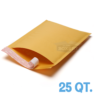 5 #7 14.5 x 20 Kraft Bubble Padded Envelopes Mailers from The Boxery