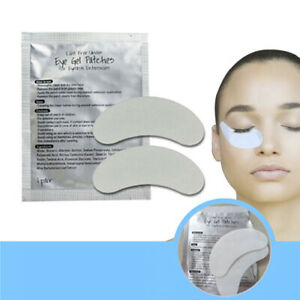 100-Pairs-Eyelash-Extension-Under-Eye-Gel-Pads-Lint-Free-Patches-PURE-HYDROGEL