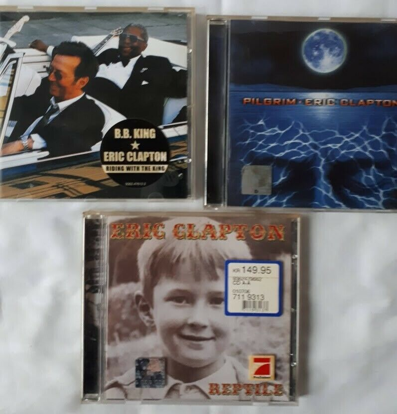 Eric Clapton: 6 stk cd, pop