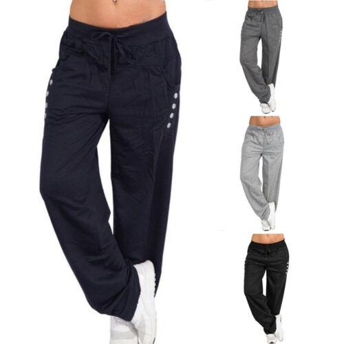 Le Donne Pantaloni Sportivi Estate Tessuto Pantaloni Sport Pantaloni Lino Pantaloni Pump Casual Pantaloni