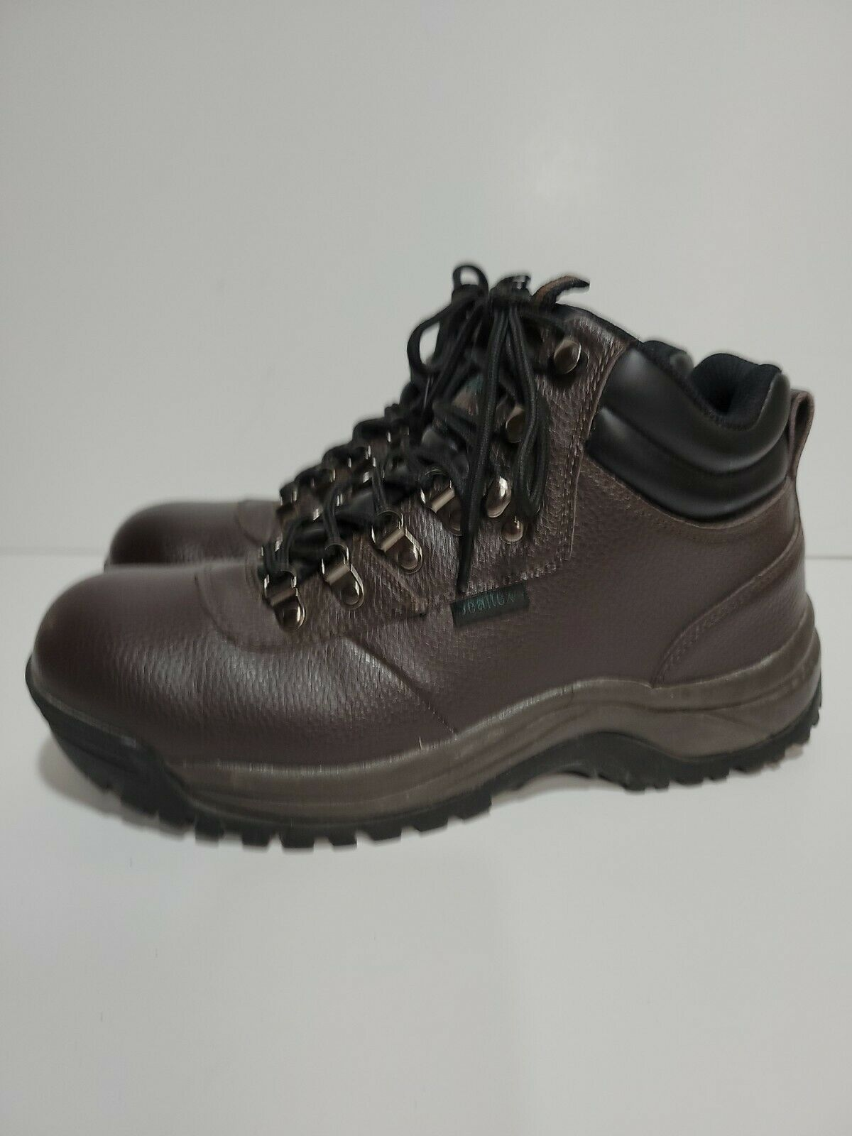 PROPET M3188 BROWN LEATHER WATERPROOF WORK HIKING ANKLE MENS 8.5 (5E)BOOTS